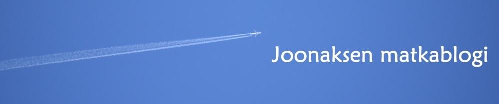 Joonaksen matkablogi