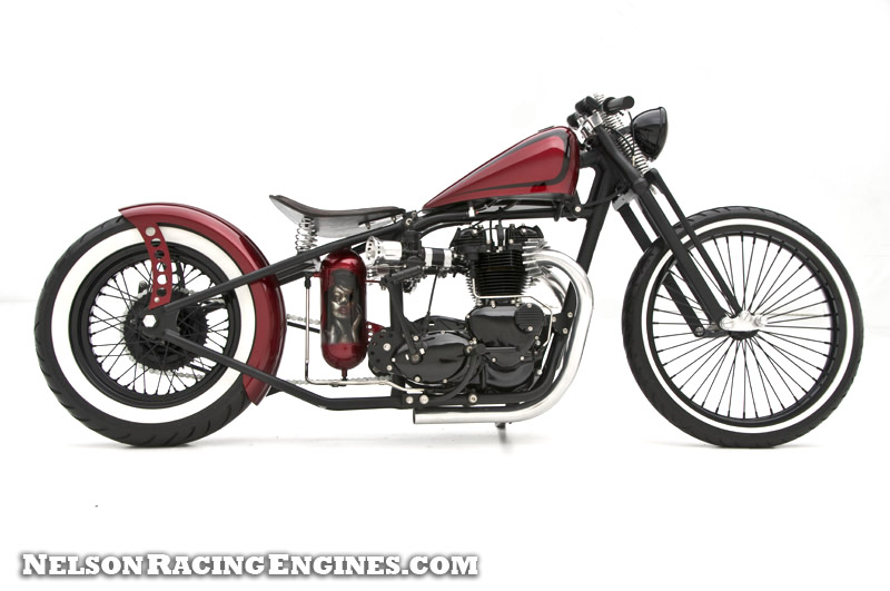 u03df hell kustom  u03df  triumph by nelson racing engines