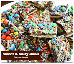 Sweet & Salty Bark with M&Ms & Pretzels