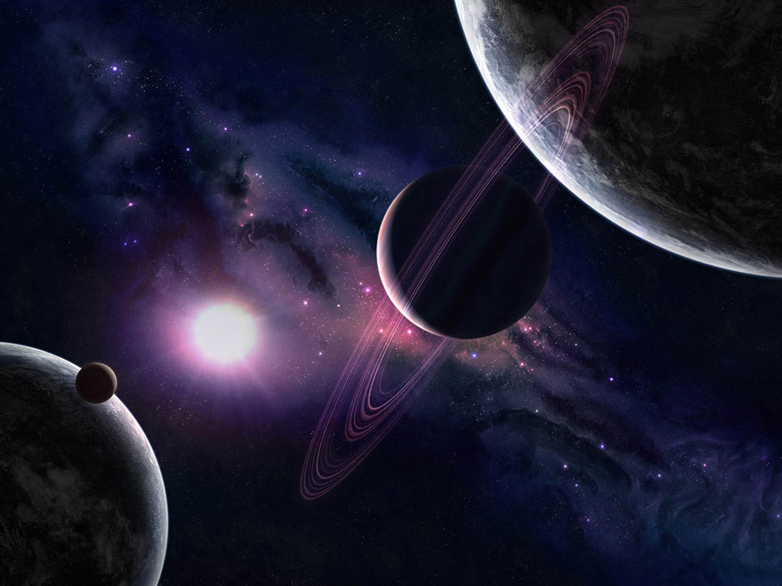 planets solar system wallpaper 1920x1200 - photo #2