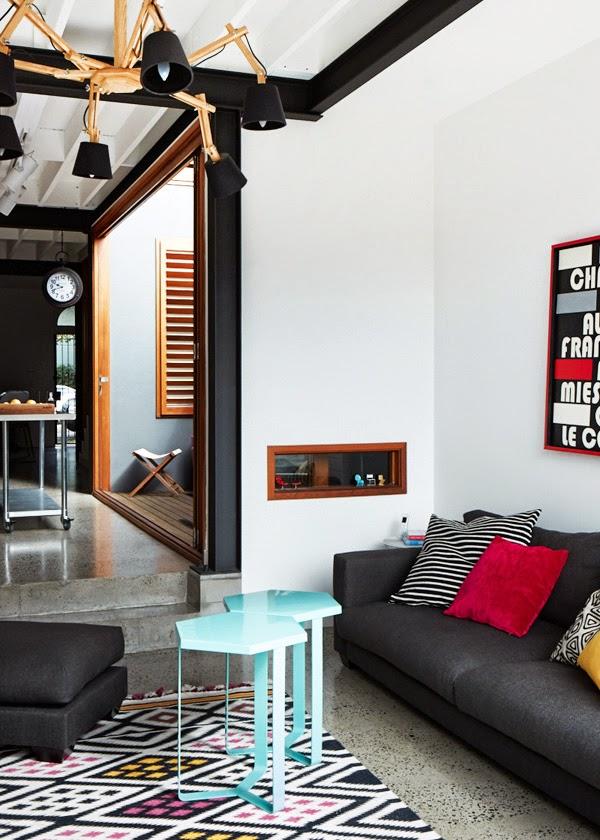 Inspiraci n deco en un piso lleno de buenas ideas y mezcla for Decorar piso terrazo