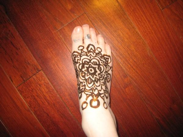 Foot Tattoos Design For Women