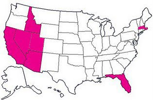 States I've ran in...