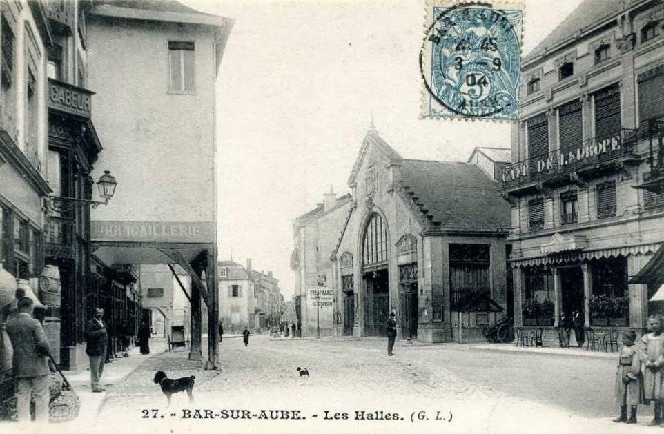 Brienne le ch teau et sa r gion 1860 halle de bar sur aube for Architecte aube