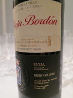 Rioja Bordón Reserva 2008 - DOCa Rioja, Spain (89 pts)