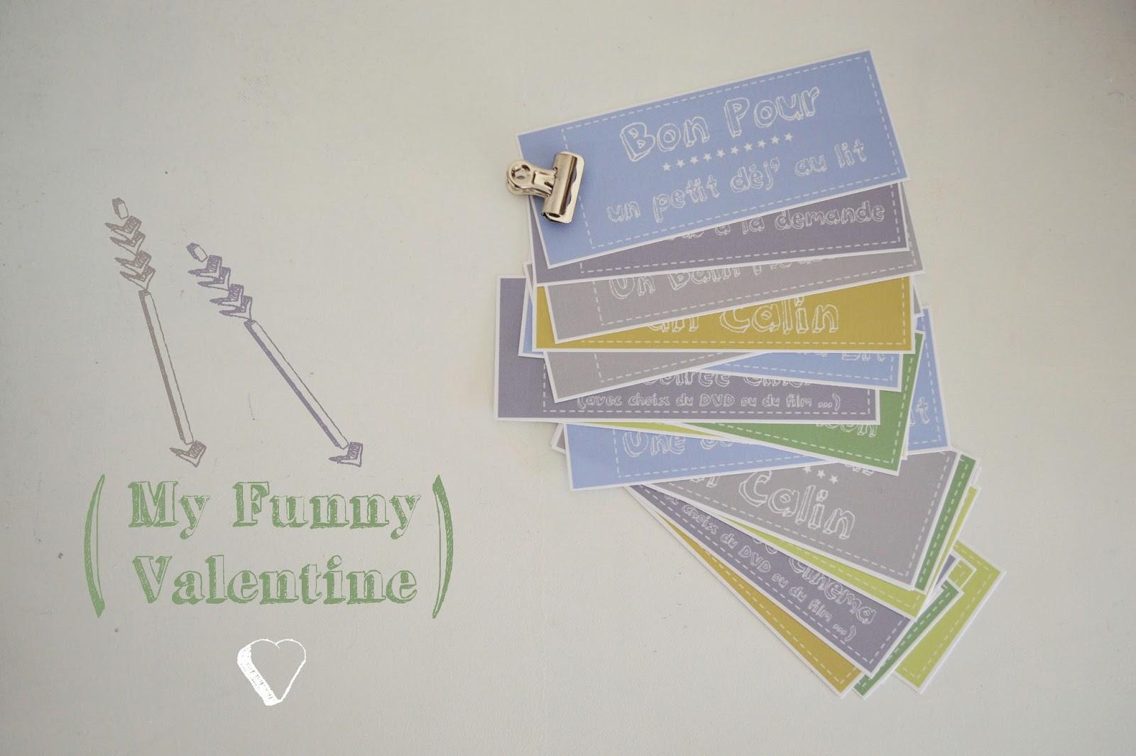 Bevorzugt Pour La St Valentin, J'Offre Un Carnet de : Bon Pour | Lily's  VK68