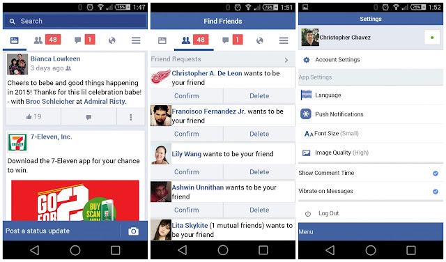 Facebook lite app download for pc