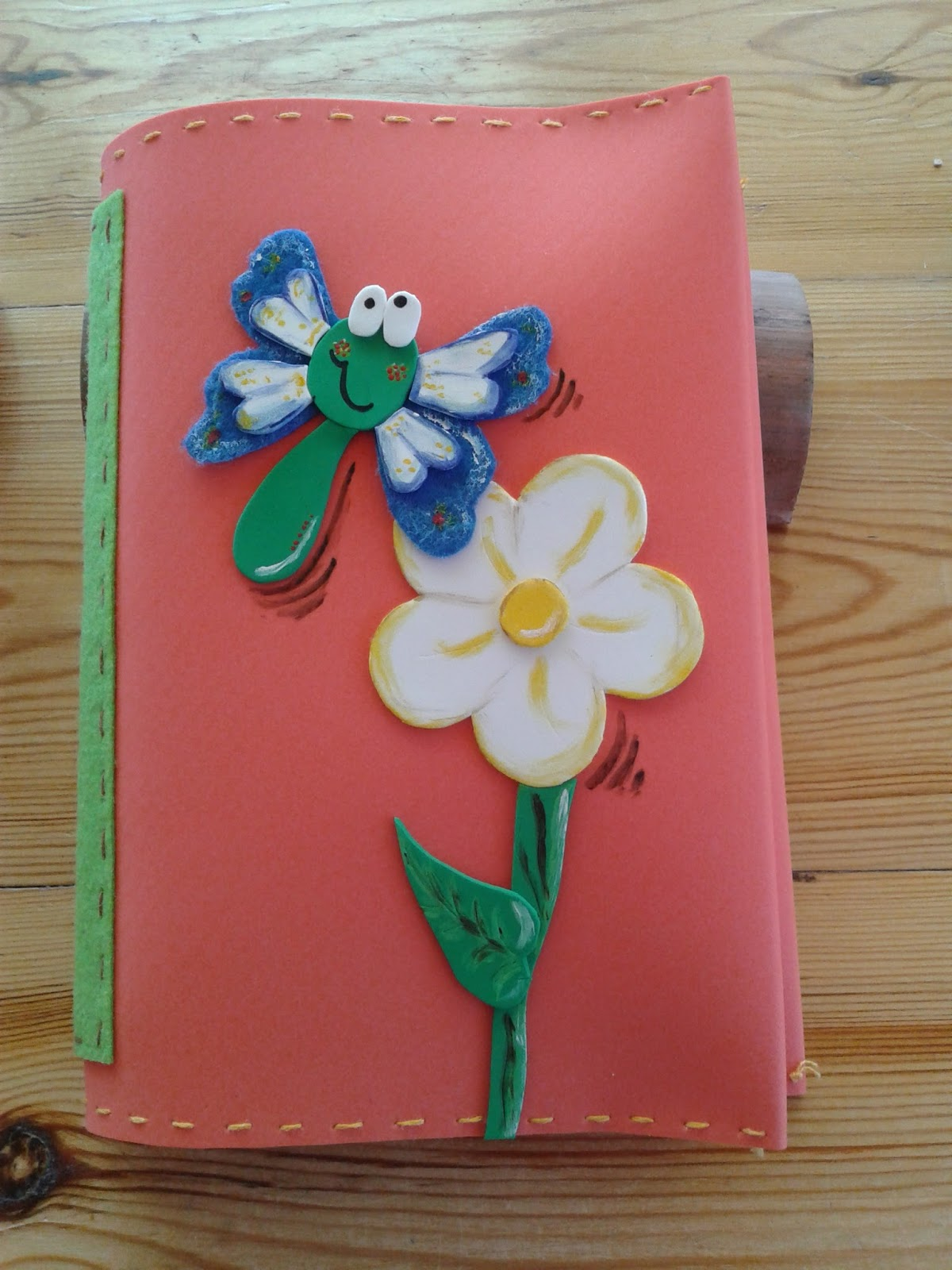 Las tejas de marisa fundas de cuadernos goma eva - Fundas de goma eva ...