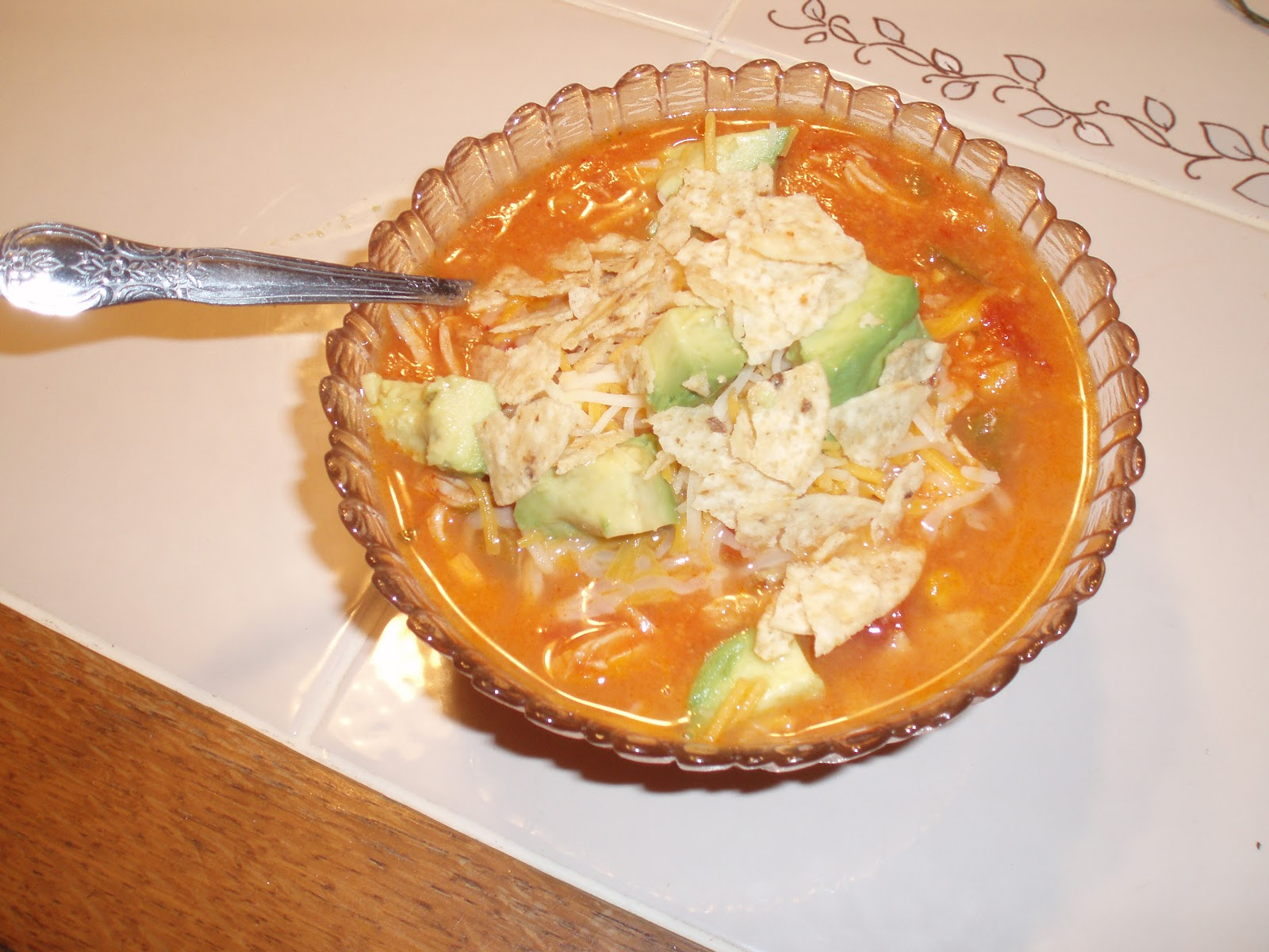 unBearablyGood: Slow Cooker Chicken Tortilla Soup!