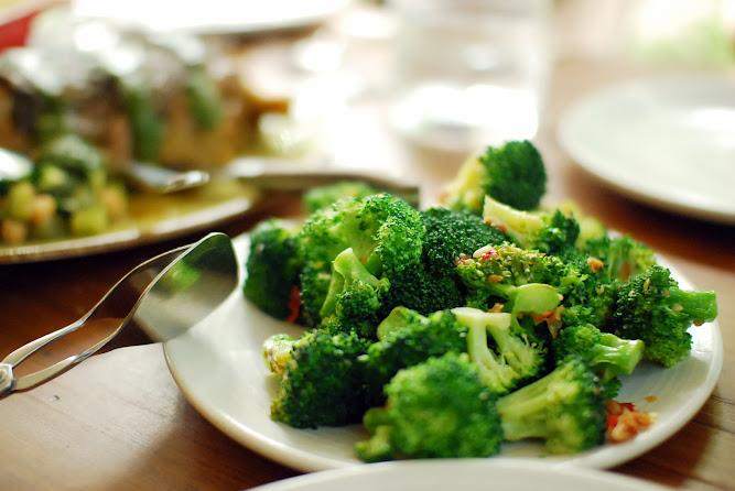 Chiswick Restaurant NSW Collective Menu Broccili