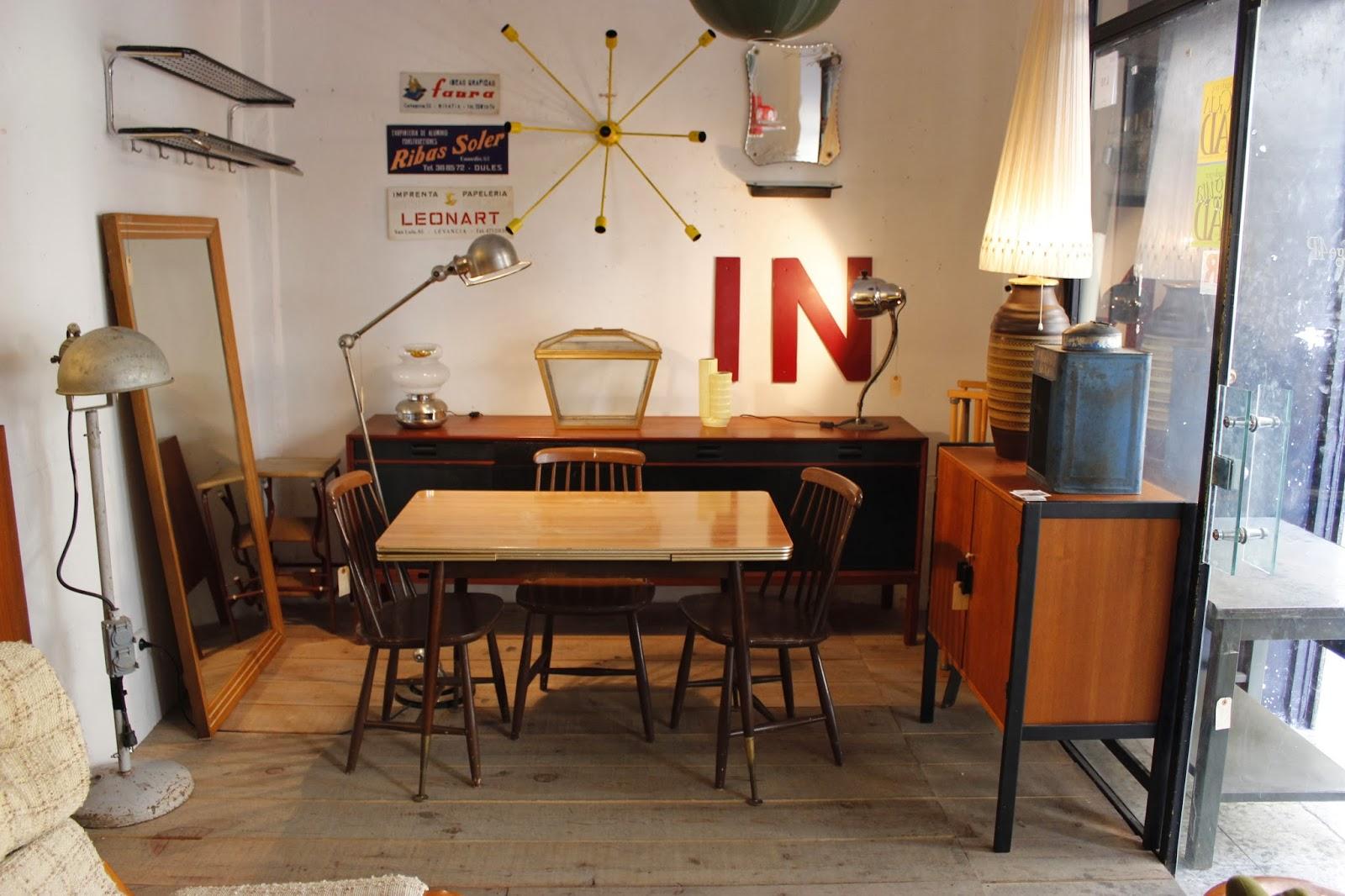 Vintage 4p tu tienda de muebles vintage en madrid - Muebles antiguos madrid ...