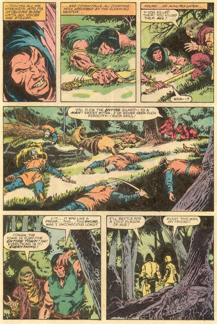 Conan the Barbarian (1970) Issue #143 #155 - English 11