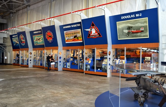 Delta Flight Museum, Hangar 1