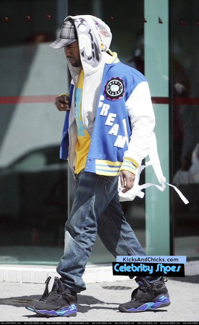 Kanye West Air Jordan ... Bugs Bunny 8s Outfit