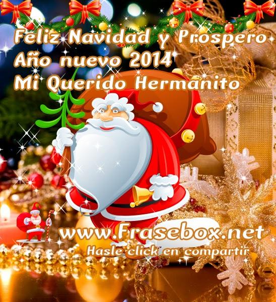 Image gallery hermana feliz ano nuevo 2014 - Feliz navidad frases ...