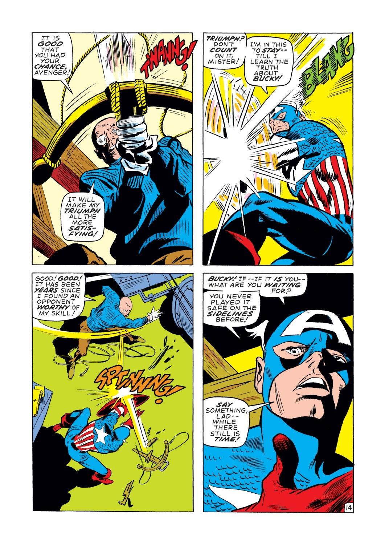 Captain America (1968) Issue #131 #45 - English 14