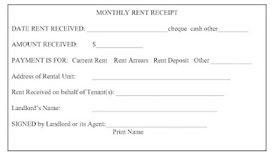 Ontario Landlord and Tenant Law September 2015 – Rental Receipts for Tenants