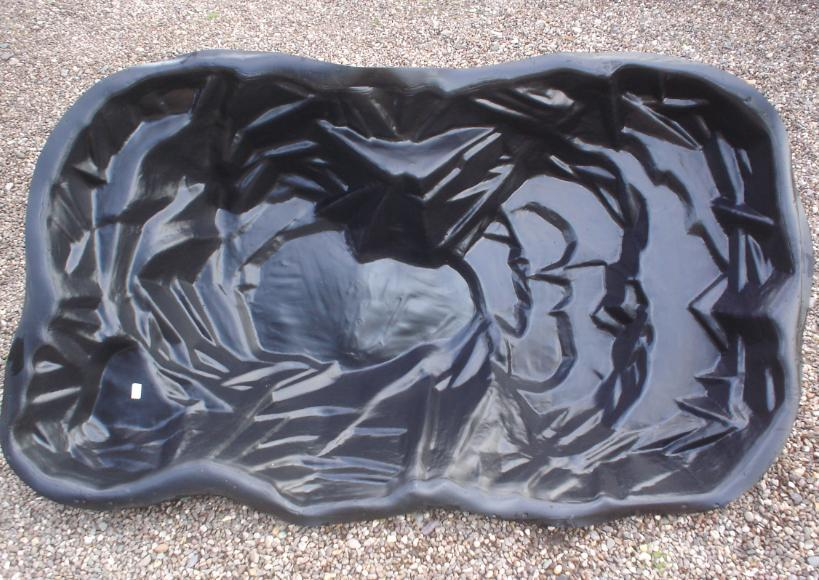 Uk gardeners blog pre formed ponds for Rigid pond liner