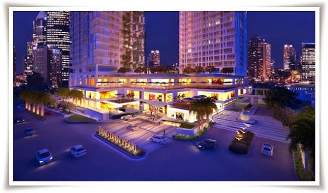 Khu căn hộ chung cư cao cấp Thảo Điền Pearl về đêm