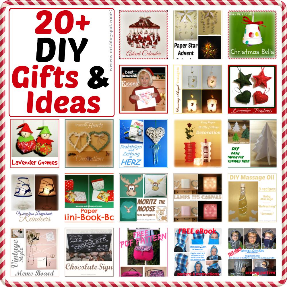 Wesens Art 20+ DIY Gifts & Ideas