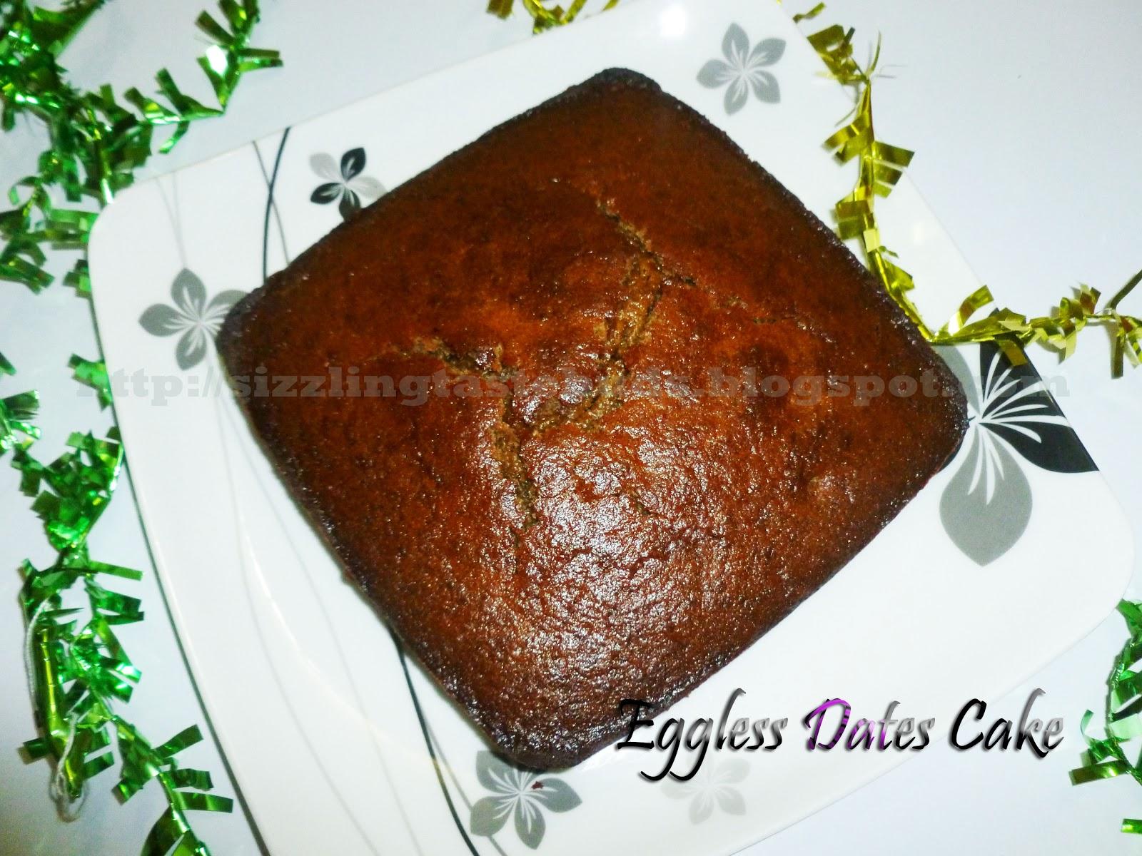Eggless Date Cake Aayi S Recipe