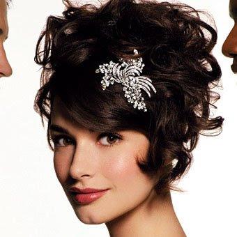 the northern bride short wedding hairstyles