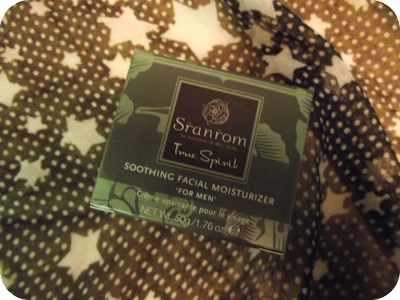 Sranrom soothing moisturiser for men