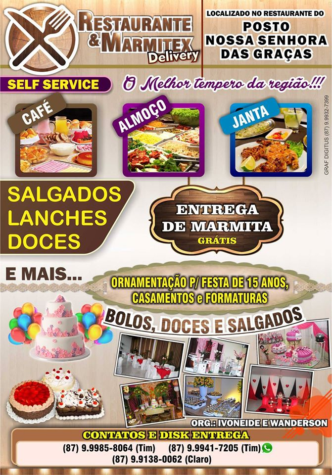 RESTAURANTE E MARMITEX DELIVERY