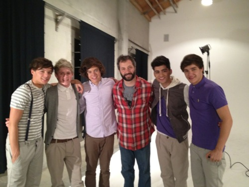 Photoshoot para Teen Vogue . Publicado por One Direction Girls ? en 13:05