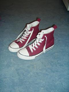 Sneakers Burgund