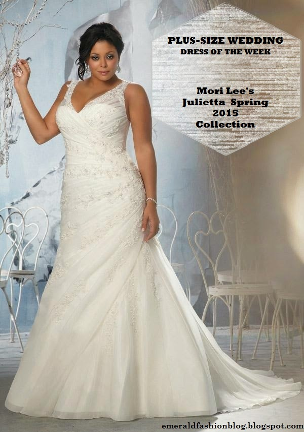 plus size wedding dress week julietta spring collection