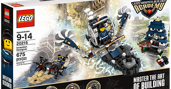 Lego Launches Steampunk Kit for Master Builder Academy