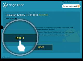 Solusi Root Yang Gagal Menggunakan Aplikasi Melalui handphone