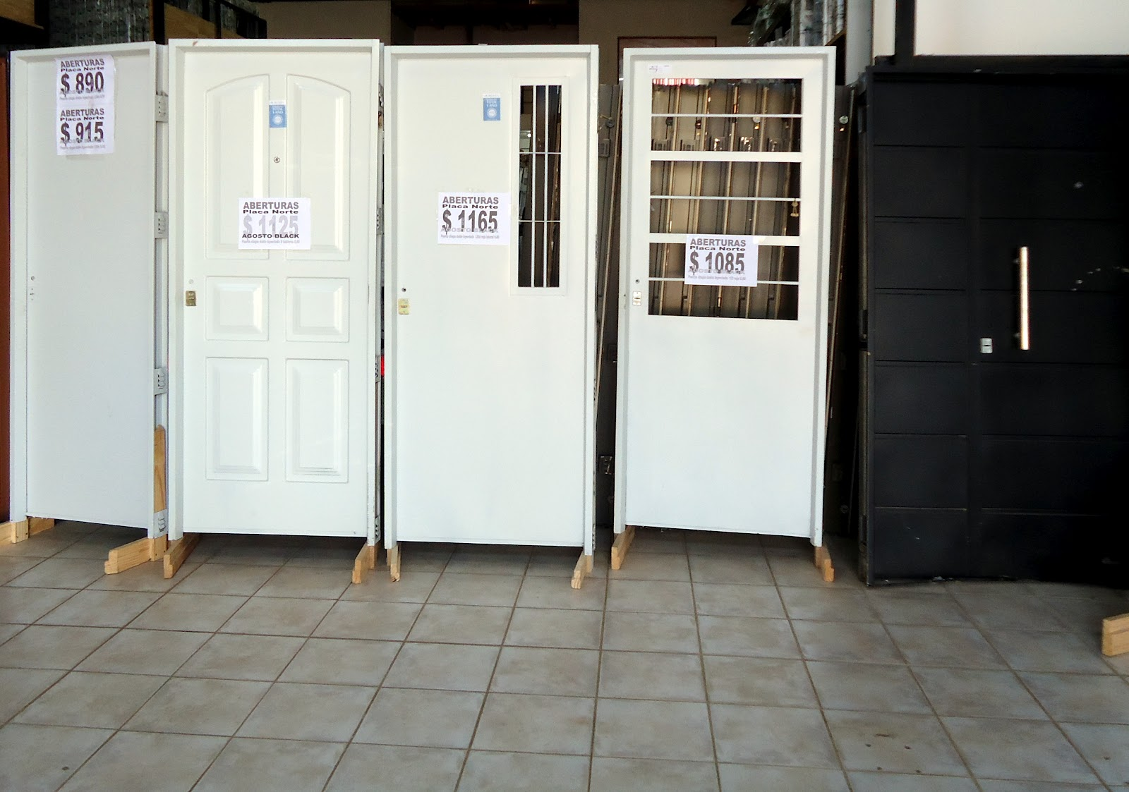 Puertas doble chapa inyectadas aberturas placa norte for Puertas de chapa para exterior