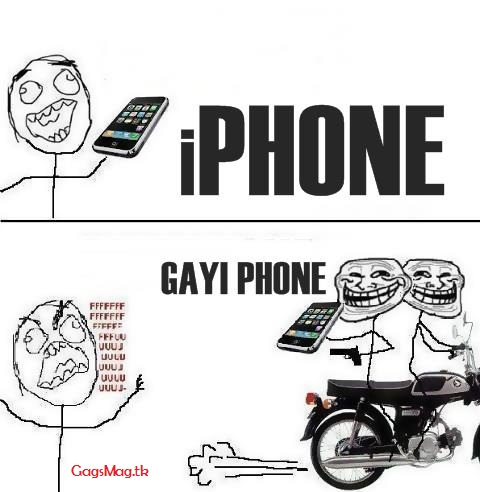 funny iphone gag
