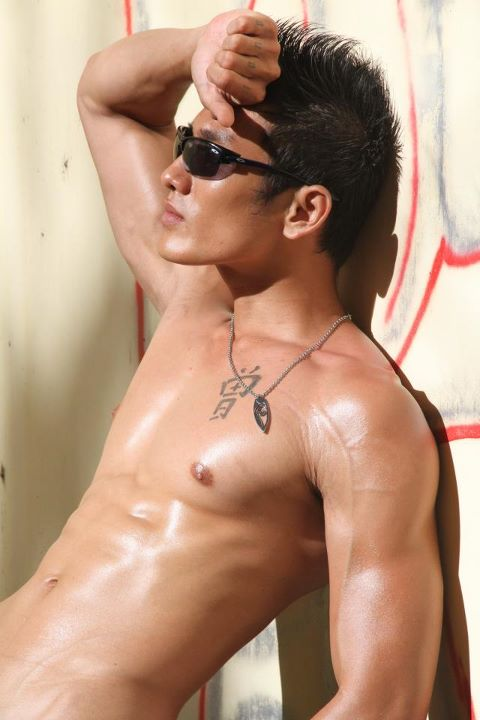 Southeast Asian Hot Male Model