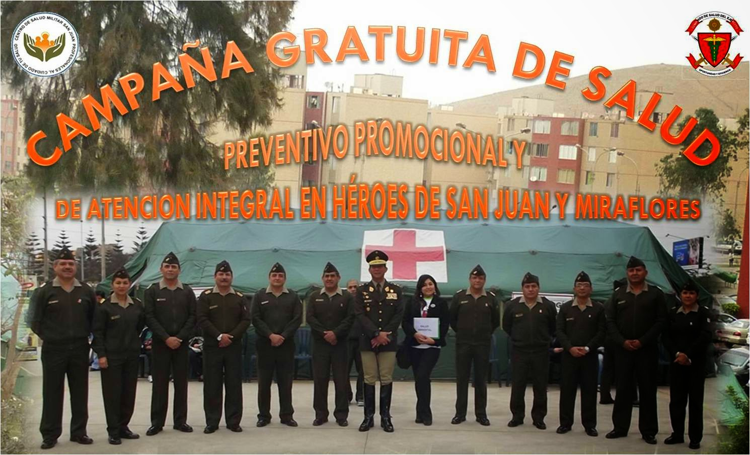 Nuestro ej rcito en video el centro de salud militar san - Centro de salud san juan ...