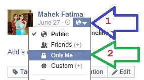 private facebook profile picture