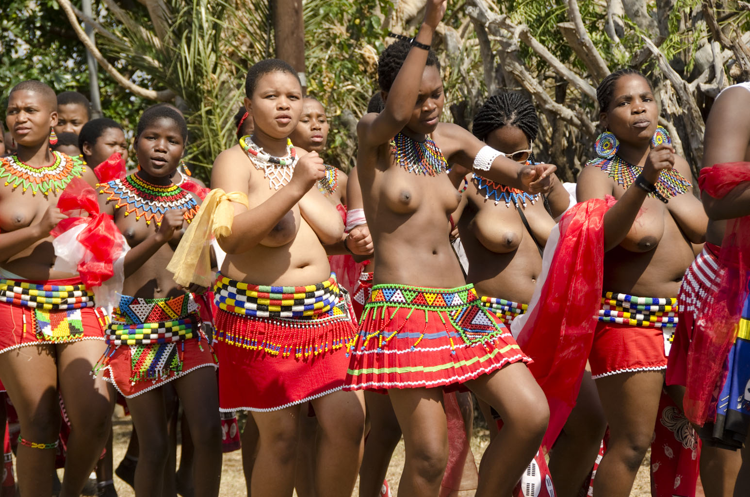 from Lee umhlanga reed dance pussy