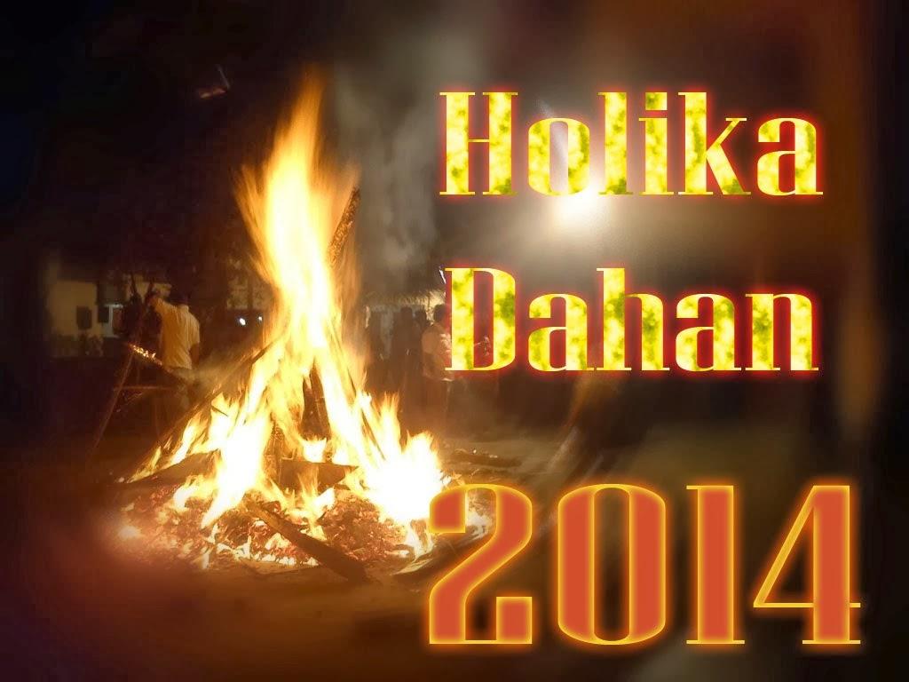 Holika dahan 2014 celebrate wishes Images
