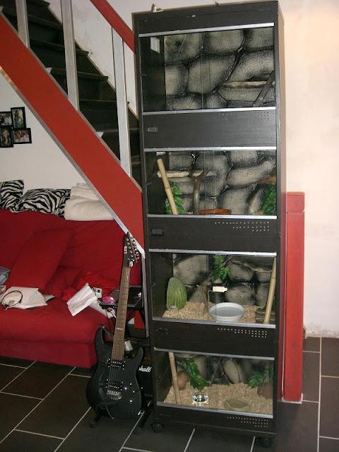 IKEA BESTA Terrarium for snakes