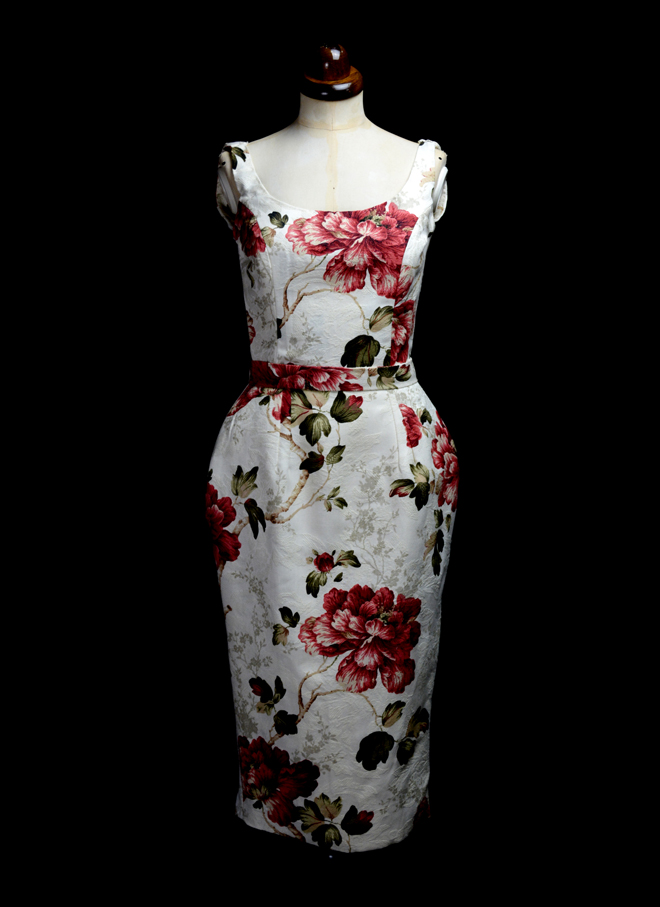Jayne Floral Wiggle Dress by Alexandra King