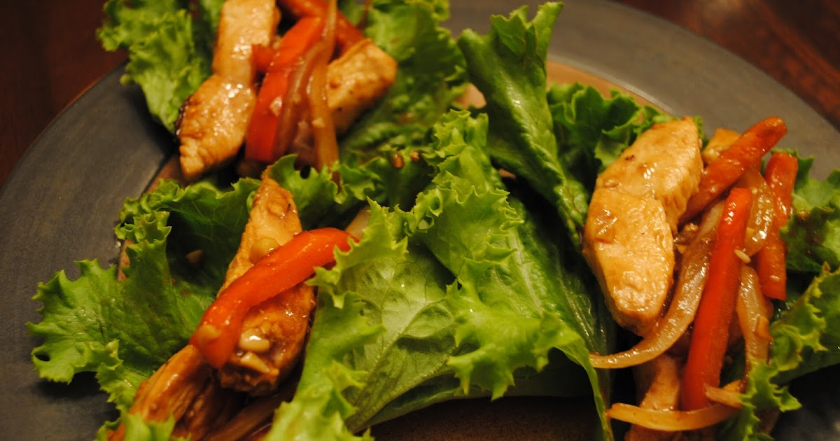 Lindsey Edits: Chicken Stir-Fry Wraps
