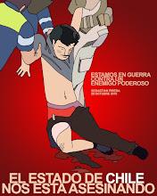 No + Represión al Pueblo de Chile