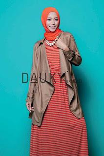 Model 3. Hijab Modern Dauky Terbaru image