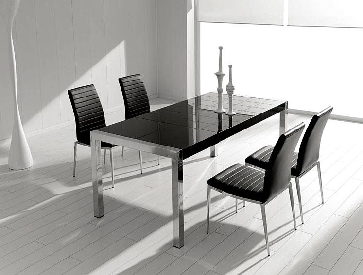 Promociones muebles xikara - Mesas de comedor de diseno extensibles ...