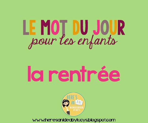 French Word of The Day on French Teaching & Learning Facebook Page