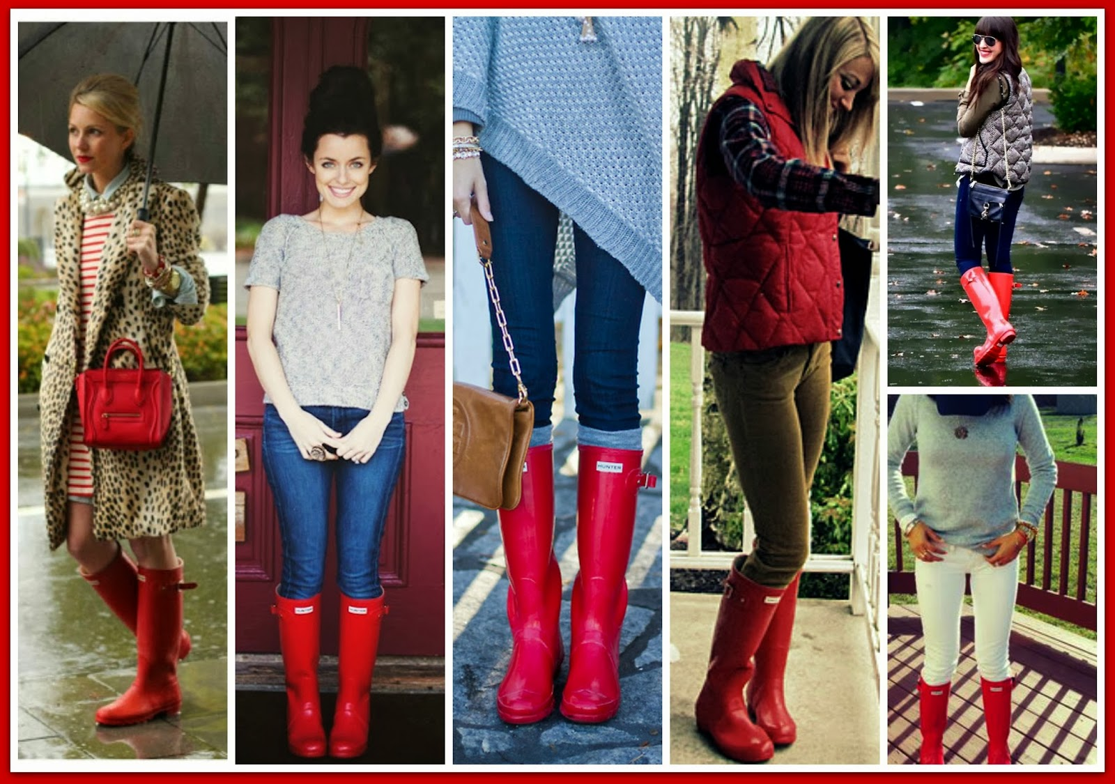 Hunter boots Blog — Sheaffer Told Me To