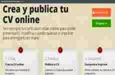 Mi-Curriculum-Vitae: permite crear CV online en forma gratuita