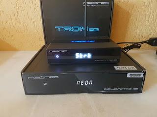 إليكم إصدار جديد لجهاز neonsat